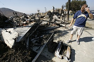 San Diego Looks Back To The Devastating 2007 Wildfires