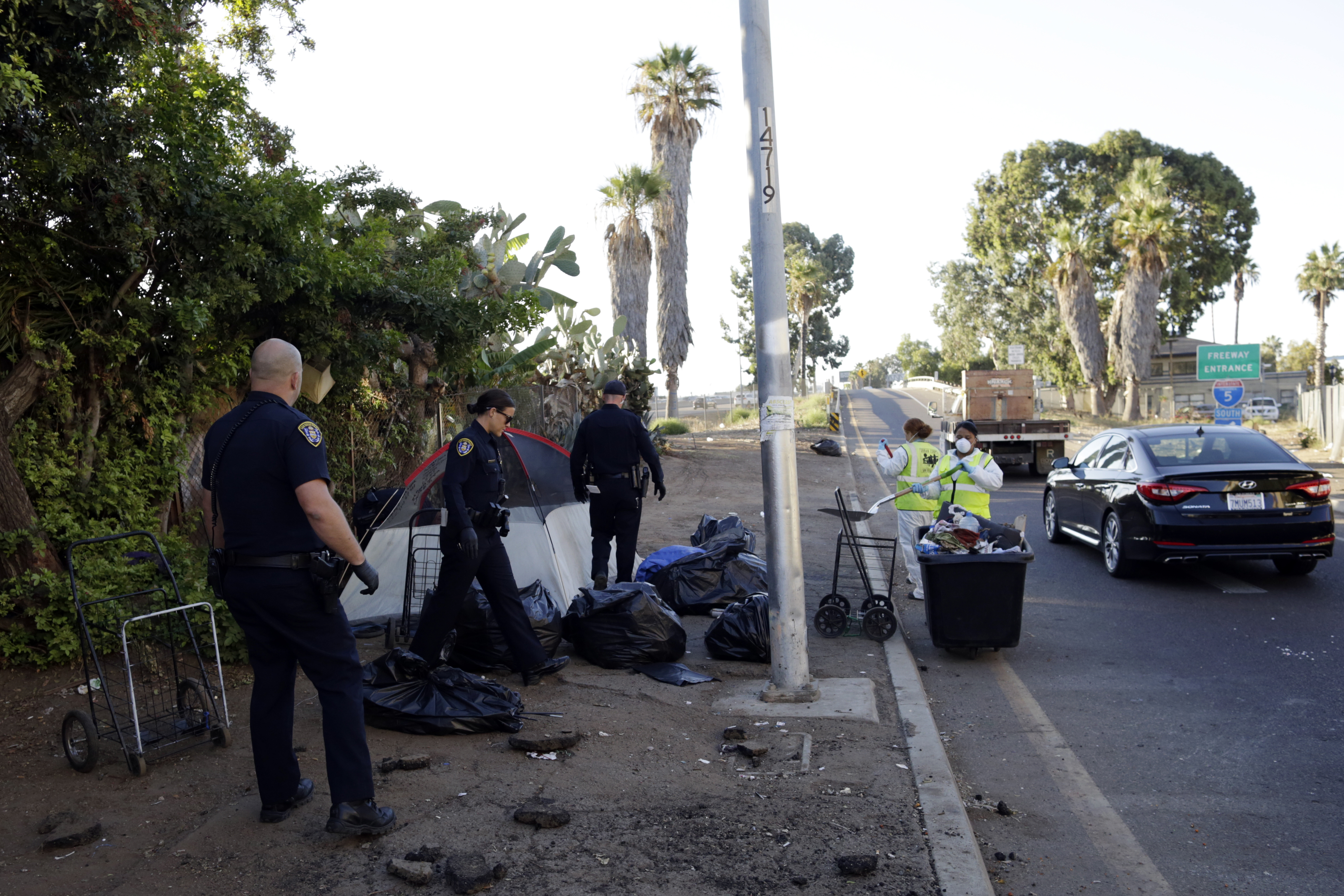 UN Observer Calls For 'Moratorium' On Criminalizing Homelessness In San Diego