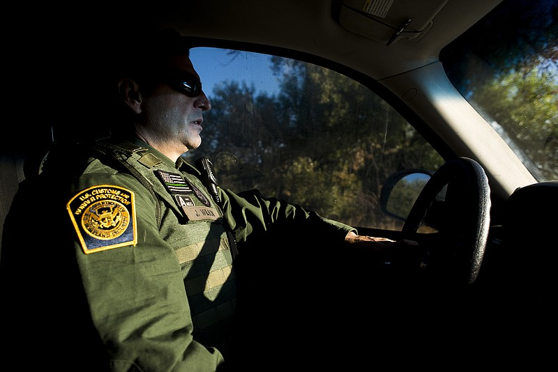 Joshua Wilson, a Border Patrol agent and vice p... ()