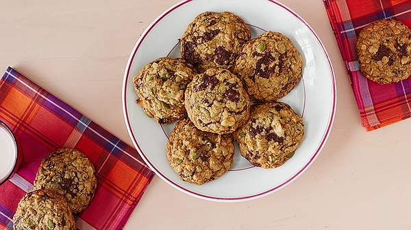 Martha makes bakery-style cookies using better-for-you in...