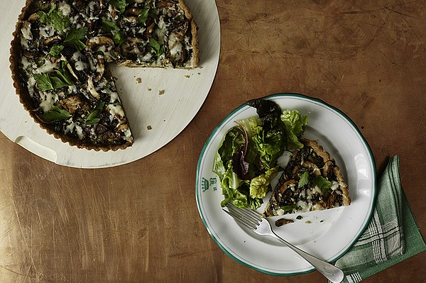 A whole-wheat, olive oil crust is a nutritious and health...