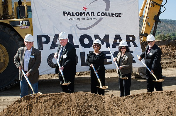 Palomar college breaks ground on a new $64 million North ...