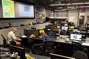 Nearly One Million San Diegans Participate In Great California ShakeOut Drill