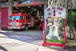 San Diego Fire Department Increases Staffing As Fire Weat...