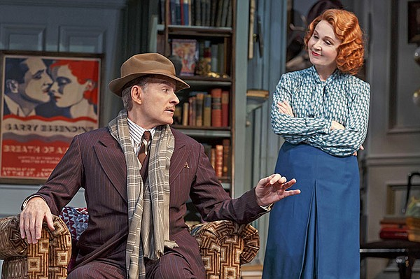 Kevin Kline and Kate Burton in Broadway's