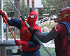 Superhero Window Cleaners Surprise Patients At Rady Children's Hosp...