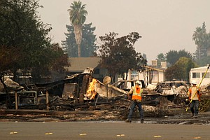 PG&E Says Someone Else's Wires May Have Started Deadly Blaze