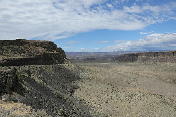 Scablands, Wash., USA.