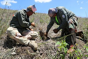 Florida Veterans Fight A New Enemy: Invasive Snakes In The Everglades