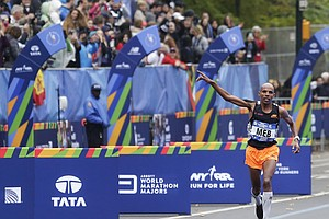 Meb Runs Final NYC Marathon To Cheers, Collapsing At Finish