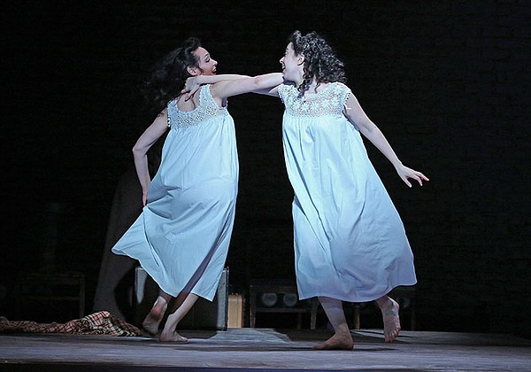 "Katrina Lenk as Manke, Adina Verson as Rivkele in ""Indece..."