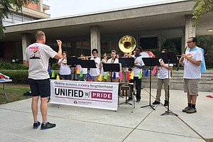 It's Fifth-Grade Music For All Under San Diego Unified Arts Plan