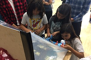 Escondido Students Step Into Shoes Of Teachers, Museum Curators
