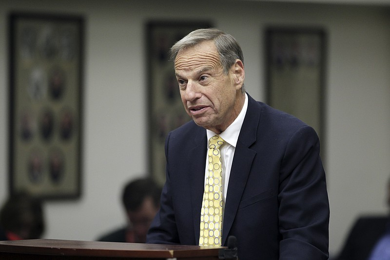 Former San Diego Mayor Bob Filner in court in San Diego, Dec. 9, 2013.