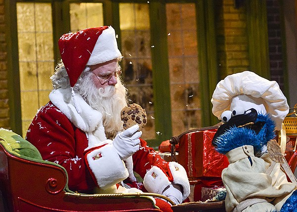 A scene with Jim Gaffigan as Santa Claus from