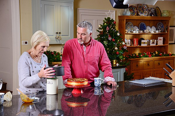 Mary Berry and Paul Hollywood.