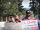 Demonstrators protest El Cajon's policy banning people from feeding the homel...