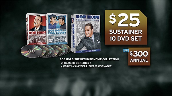 "Give $25/ month or $300 now and get the ""Bob Hope: The Ul..."