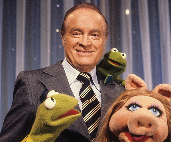 Bob Hope with Muppets Kermit the Frog and Miss Piggy for ...