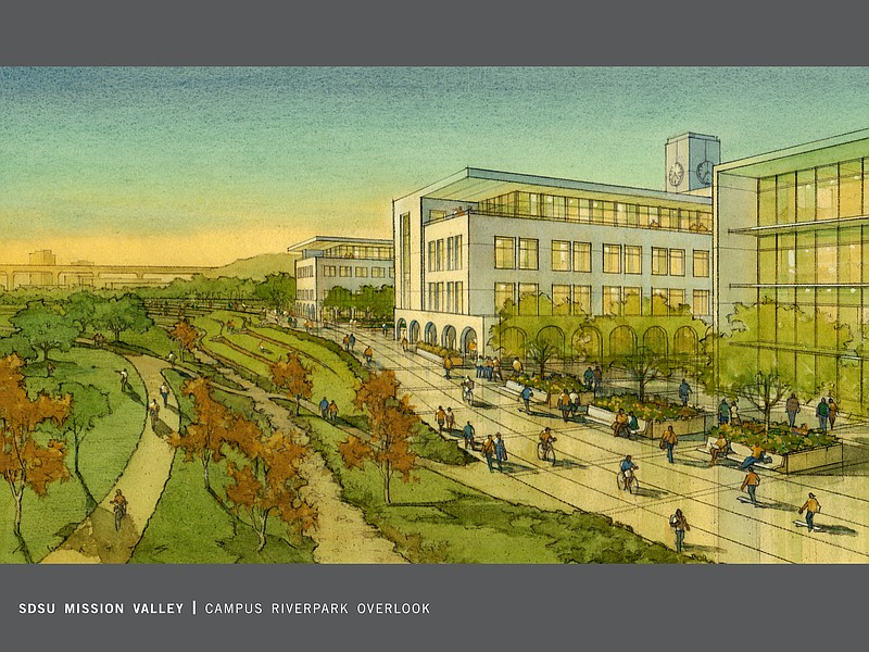Sdsu Campus Map Pdf.Sdsu Unveils Campus Expansion Plan For Mission Valley Kpbs