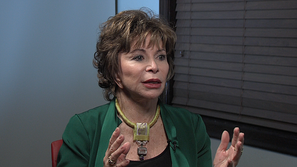 Isabel Allende discusses her new book,