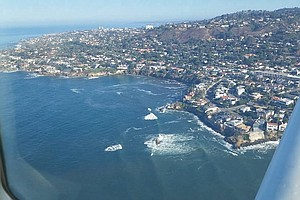 King Tides Apply Pressure To San Diego Coastline