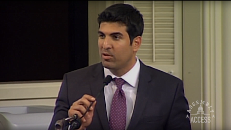 Assemblyman Matt Dababneh, D-Woodland Hills, is shown in this undated screens...