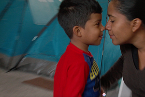 Asylum-Seeking Mother Crosses Border After Immigration Of...