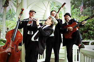 The Zzymzzy Quartet Blends Gypsy Swing And Jazz Standards...