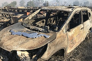 Photo for FEMA Help Available For Lilac Fire Victims