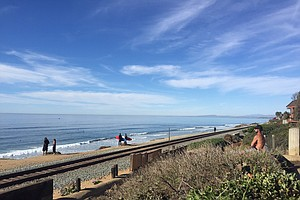 Photo for Construction To Stabilize Tracks On Del Mar Bluffs To Continue In 2020