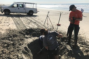 San Diego Researchers Digging For Information On Sand Berms