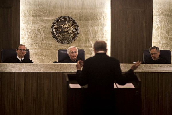 California 4th District Court of Appeal justices listen t...