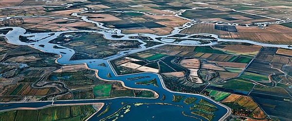 California's Central Valley Basin includes two major wate...