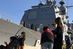 San Diego-based Navy Ship Involved In Collision Heads Bac...