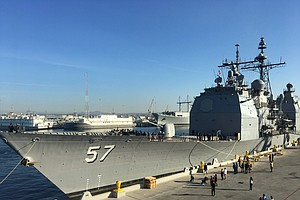 USS Lake Champlain To Deploy To Western Pacific