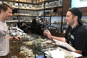 Photo for A Look Back At The First Year Of Legal Marijuana Sales In California