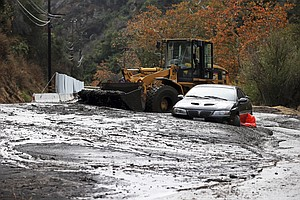Rain Storm Triggers Fatal Mudslides In Southern California