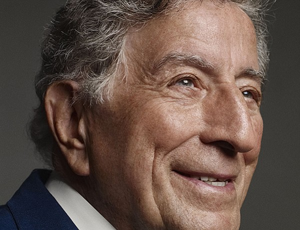 Legendary singer Tony Bennett, the 2017 recipient of The ...