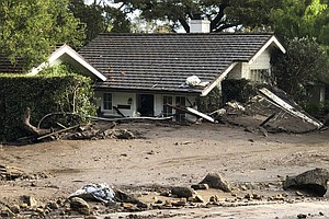 Death Toll Hits 15 In California Mudslides; 24 Missing