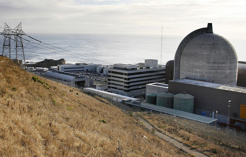 Diablo Canyon Power Plant's nuclear reactors in Avila Beach, Calif., Nov. 3, ...