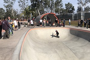 County's Newest Skate Park Opens In Linda Vista