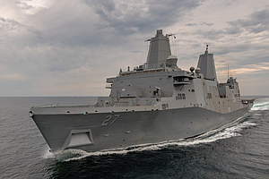 USS Portland Arrives Monday In Home Port San Diego