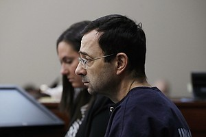 Gymnastics Doctor Sentenced To 40 To 175 Years In Prison