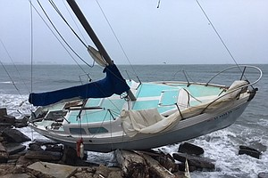 Military Officials Search For Owners Of Eight Boats Washe...