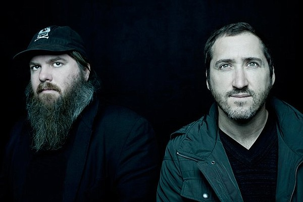 A photo of the band Pinback.
