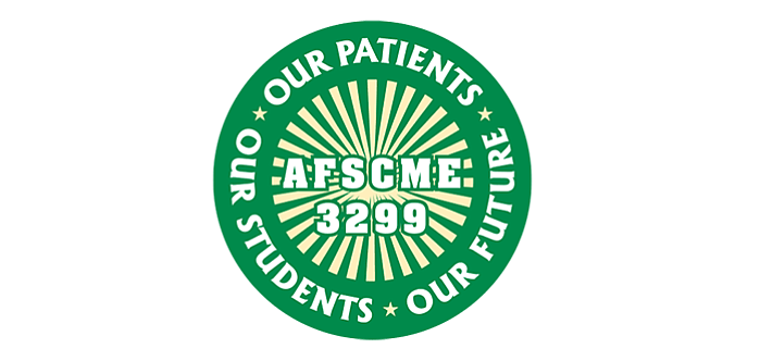 The AFSCME Local 3299 logo is shown in this undated image.