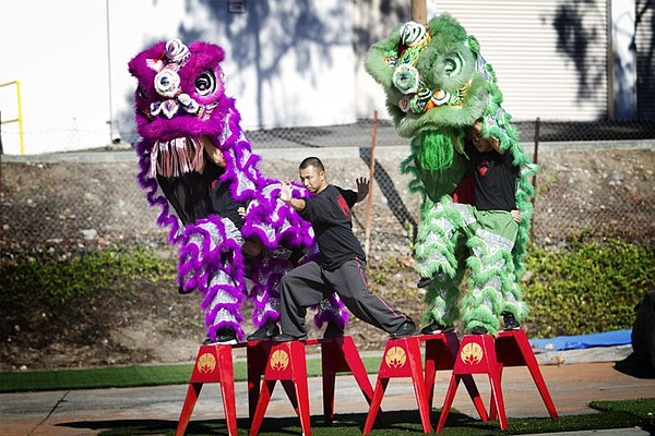 A photo from Balboa Park's Chinese New Year Festival.