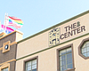 The San Diego LGBT Community Center sign is see...
