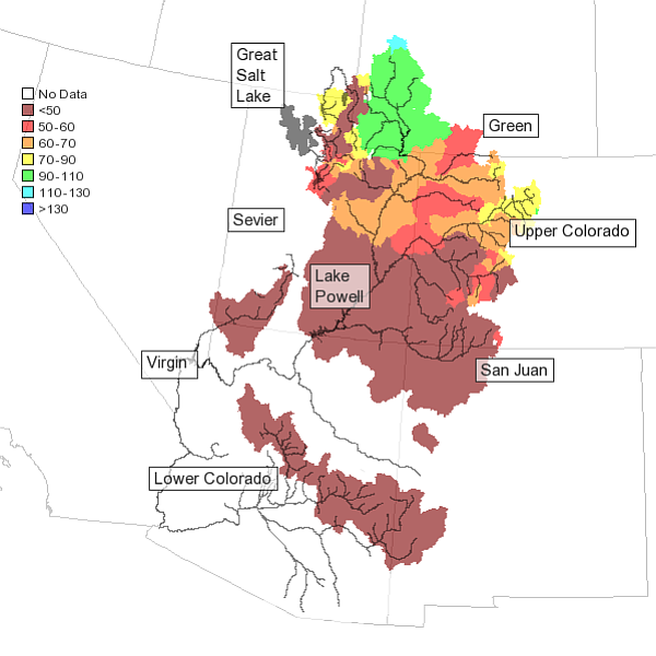 The Colorado Basin River Forecast Center's water supply f...